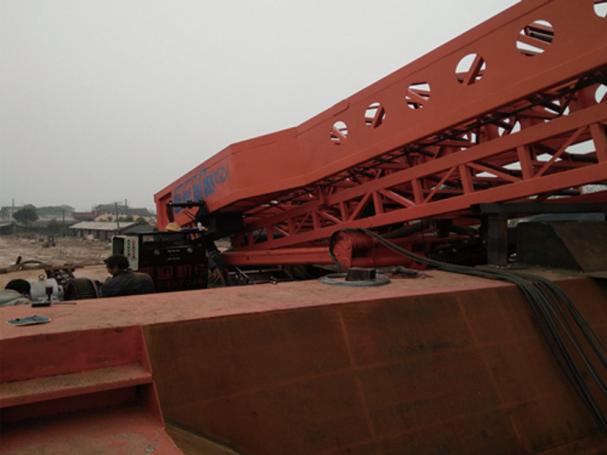 液压折叠皮带输送机码头液压折叠皮带输送机厂家